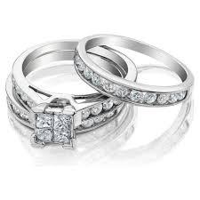Wedding Ring Trio Sets by Wedding Rings Ring Design Ideas Wedding Ring Trio Sets Jared