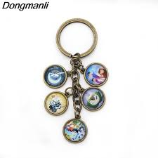 round key rings images P1273 dongmanli new trollhunters key chain metal alloy round key jpg