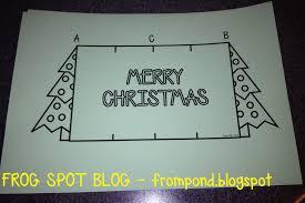 christmas card ideas frog spot