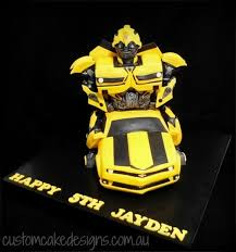 transformers bumblebee cake cake by custom cake designs cakesdecor