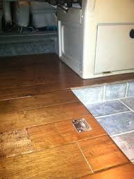 rialta wood floor modification with tile entryway we u0027re doing this