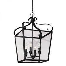 Lantern Pendant Light Fixture Lantern Pendant Light Makeover The Lettered Cottage
