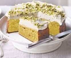 frosted white chocolate easter cake recipe bbc good food