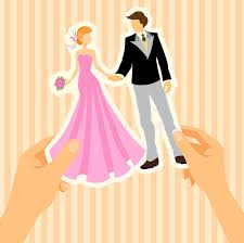 wedding card to groom from wedding card with and groom stock vector illustration of