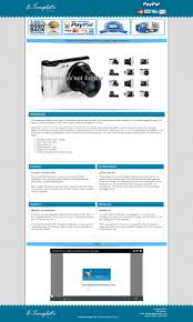 ebay template design ebay auction listing templates