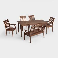 Cost Plus Outdoor Furniture St Martin Outdoor Dining Collection World Market