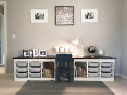 Kid Desks Ikea Children S Desk Ikea Trofast Hack Liam S Room Pinterest