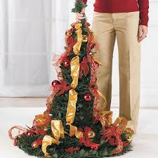 Brylane Home Christmas Decorations Flat To Fabulous Fully Decorated Pre Lit 6ft Christmas Tree