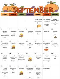 printable shot recipes september s budget menu plan 30 days of delicious dinners for 229