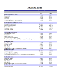 trend analysis report template 17 financial statement analysis exle free premium templates