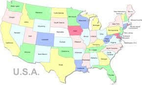 Map Of Georgia And Florida Quiz Map Of Usa With States And Major Cities Labeled 25 For In