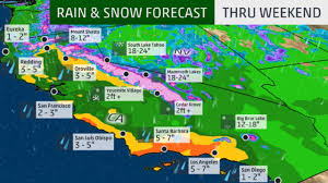 Los Angeles Traffic Map by Los Angeles Could See Most Rain In Years The Weather Channel