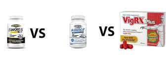sizegenix vs rexavar vs vigrx plus choosing a good pill for your