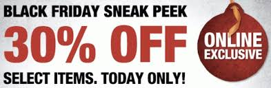 home depot black friday coupon home depot black friday sneak peek 30 off coupon code today only