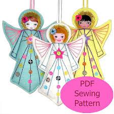 pdf sewing pattern felt pattern felt template diy
