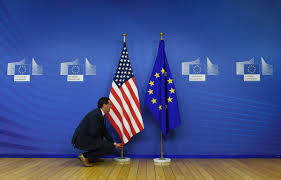 How Many Stars On The United States Flag U S Flag At Mike Pence U0027s Eu Event Had Too Many Stars Toronto Star