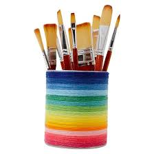 hand made modern 6ct med lg paint brush set target