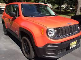 orange jeep 2016 2016 orange jeep renegade sport four door manual transmission all