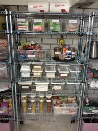 Ikea Pantry Shelf Organize Basement Pantry Storage With Ikea Omar Opbergen