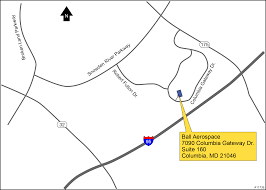 Columbia Campus Map Ball Aerospace Columbia Maryland