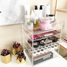 hair and makeup organizer best 25 acrylic makeup organizers ideas on large