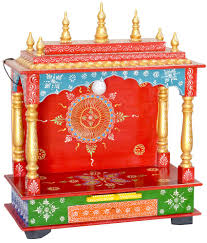 new star home decor multicolour wood hanging mandir buy new star