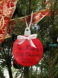 christmas ornament for newlyweds first christmas together as