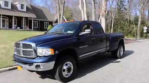 2005 dodge ram 3500 for sale 2005 dodge ram 3500 laramie dually for sale leather htd seats cd 6