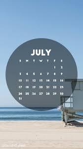 beach scene california lifeguard stand july 2016 calendar
