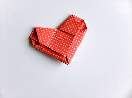 how to fold a love letter into an origami heart i try diy