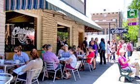 outside seating restaurant savannah ga clary u0027s cafe