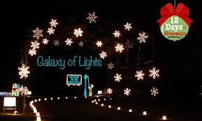 christmas tree lighting bridge street huntsville al win a pass to the galaxy of lights at huntsville botanical garden