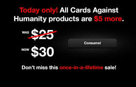 cards against humanity for sale look what happened when this company offered an absurd 5