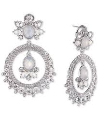 Ralph Lauren Chandelier Fashion Earrings Marchesa Crystal U0026 Stone Orbital Chandelier Earrings Jewelry