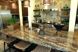 kitchen islands with granite countertops kitchen island with granite countertop white top overhang populace
