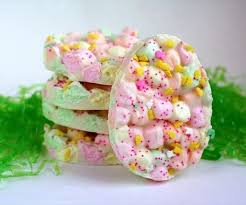 easter marshmallow candy easy easter marshmallow bark 5 steps with pictures