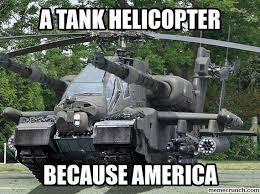 Tank Meme - helicopter