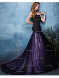 Purple Wedding Dresses Gothic Wedding Dresses Black Wedding Dresses Custom Alternative