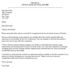 Application Letter For Applying As Cover Letter Applying For A Teaching Adriangatton Com