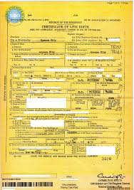birth certificate correction sample letter dual citizenship o