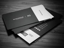 Best Minimal Business Cards Cool Business Cards Reloaded 24 Fresh Examples