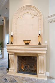 toronto showroom cast stone fireplace mantel overmantel