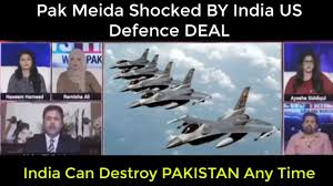 pak media shocked by india us defence deal india can destroy