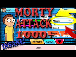 super rick fan morty pocket mortys morty s attack 1000 only two mortys left super