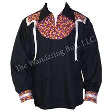 ribbon shirt turtle island ribbon shirt black large the wandering bull