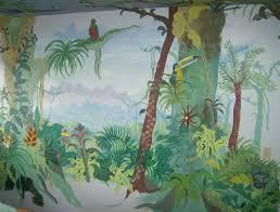 28 rainforest wall murals rain forest wall mural by philip rainforest wall murals homegrown murals rainforest mural