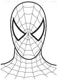 best spider man color page 34 for free colouring pages with spider