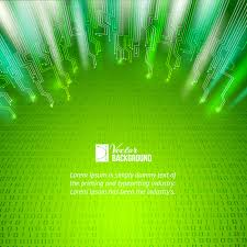 abstract green lights background vector free