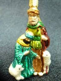 santa in sleigh glass ornaments www oldworldchristmas