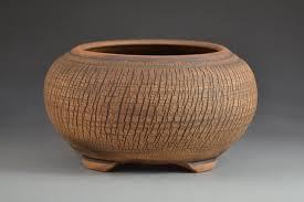 bonsai pot semi cascade cracked finish 8 1 4 inches 13566 bonsai pot semi cascade cracked finish 8 1 4 inches 13566